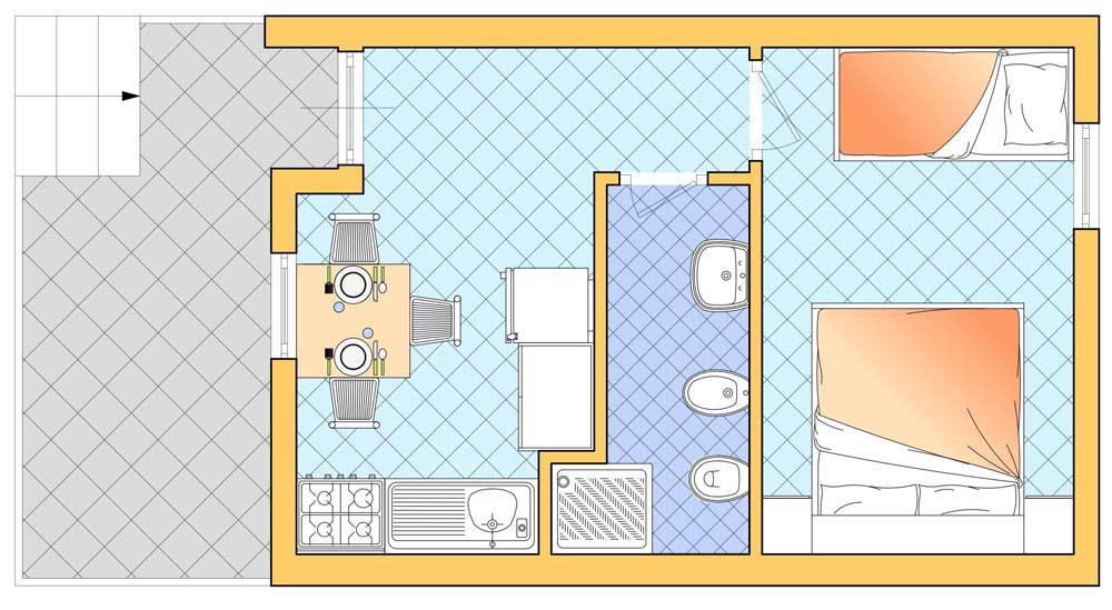 Arredare Soggiorno 20 Mq ~ Idea Creativa Della Casa e Dell\'interior ...